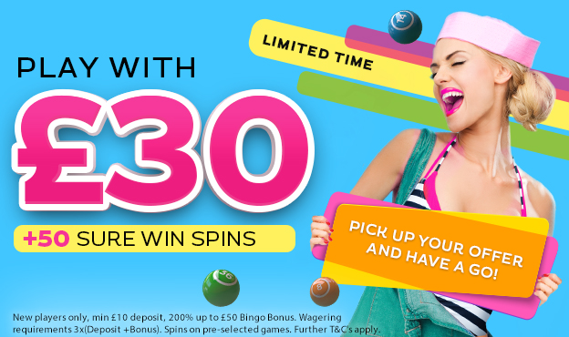Gossip Bingo: Deposit £10 and Play with £30