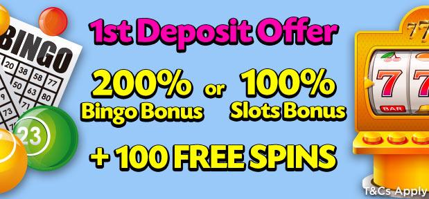 Lucky Pants Bingo 1st Deposit