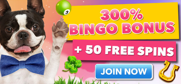 Give Back Bingo 300% Bingo Bonus and 50 Free Spins