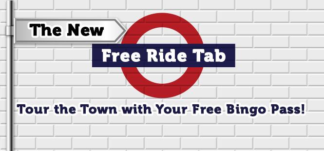 Red Bus Bingo Free Ride Tab